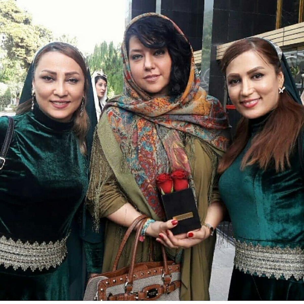 خوشگذرانی همسر بی حجاب شهاب حسینی +عکس