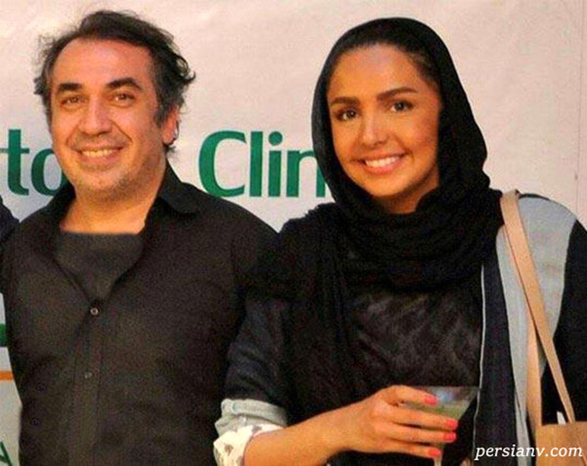 همسر قد بلند سیامک انصاری + عکس