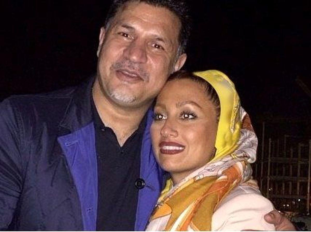 علی دایی و همسرش با لباس عروس + عکس