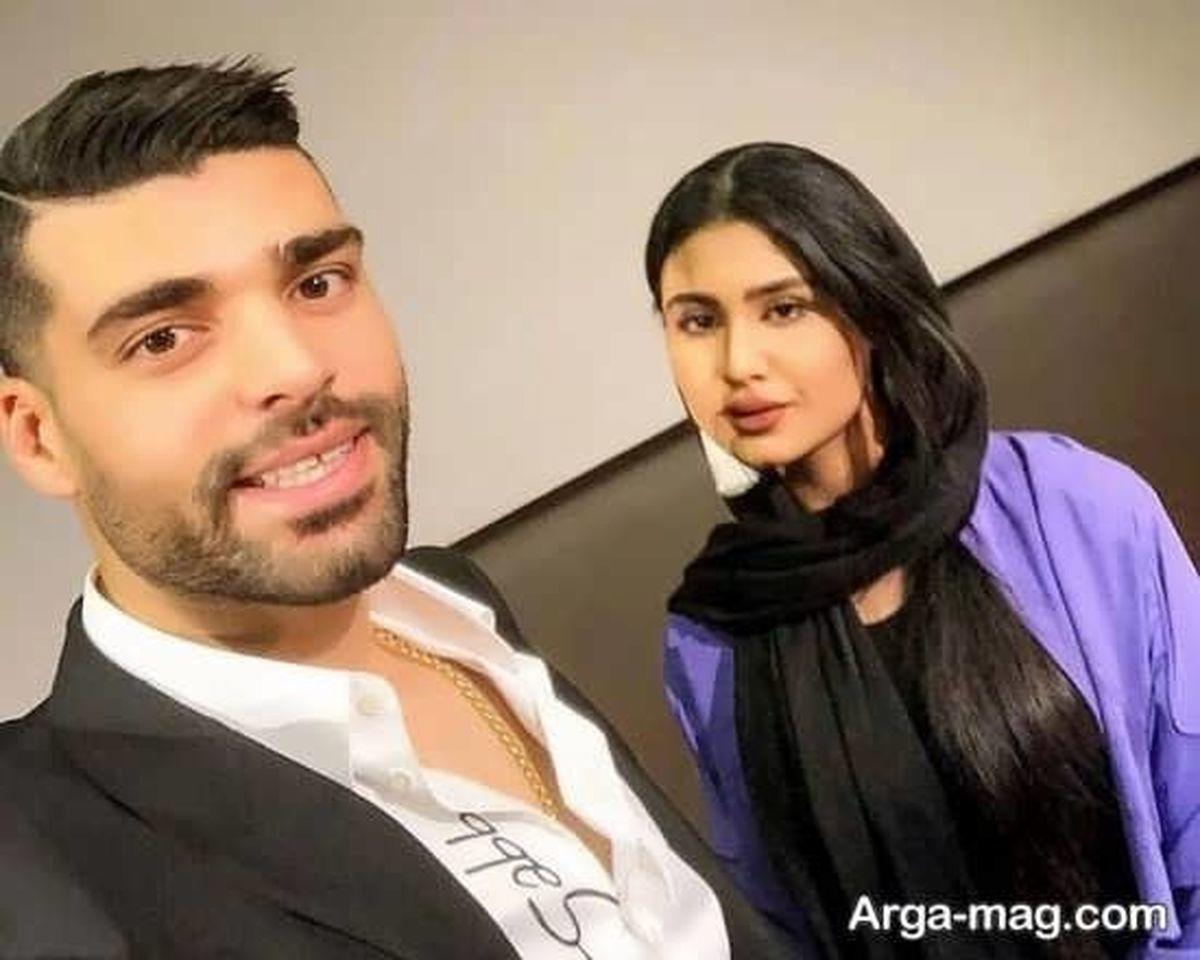 رونمایی مهدی طارمی از همسر جدیدش + عکس