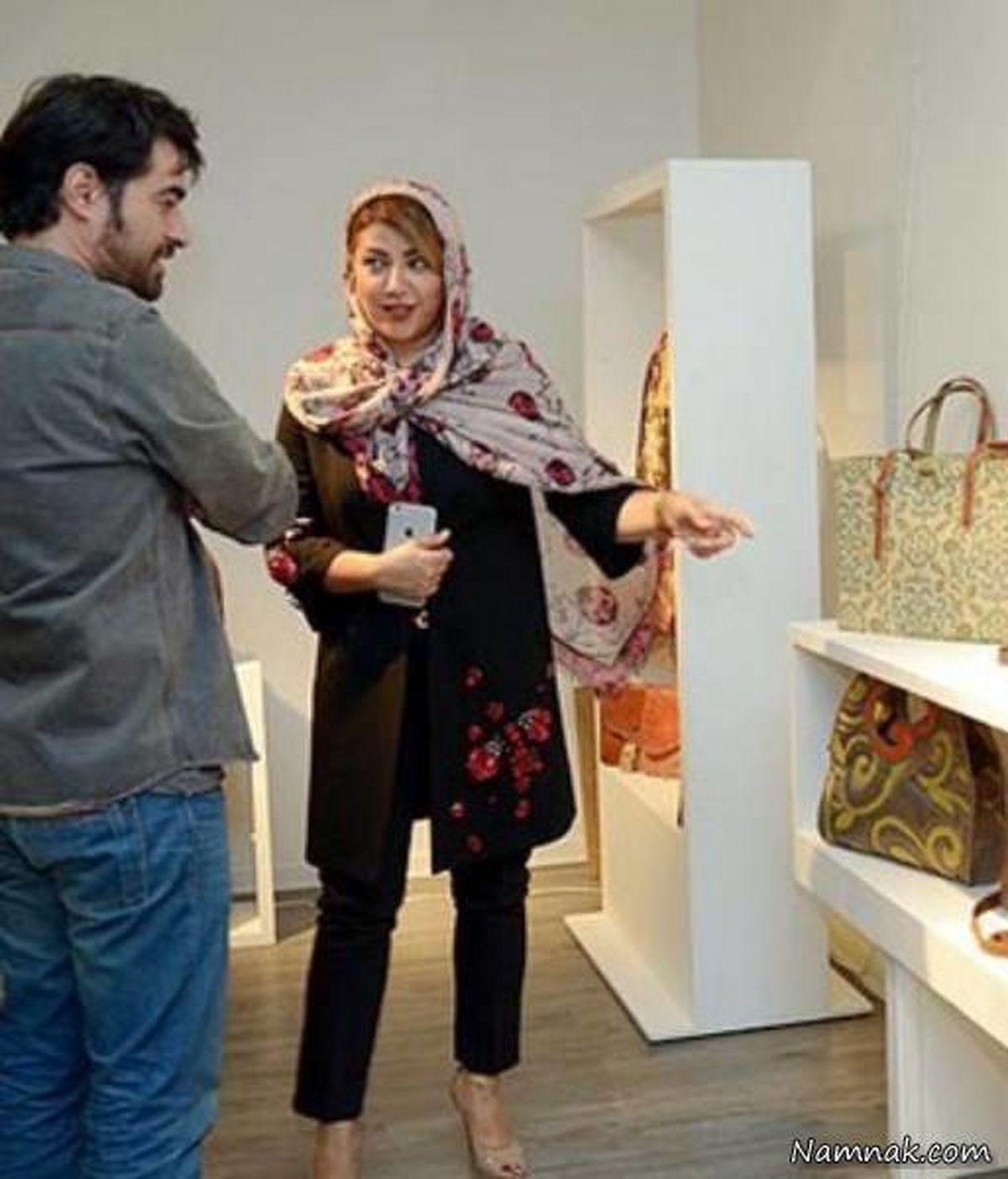شهاب حسینی و همسرش با شلوار کوتاه+عکس