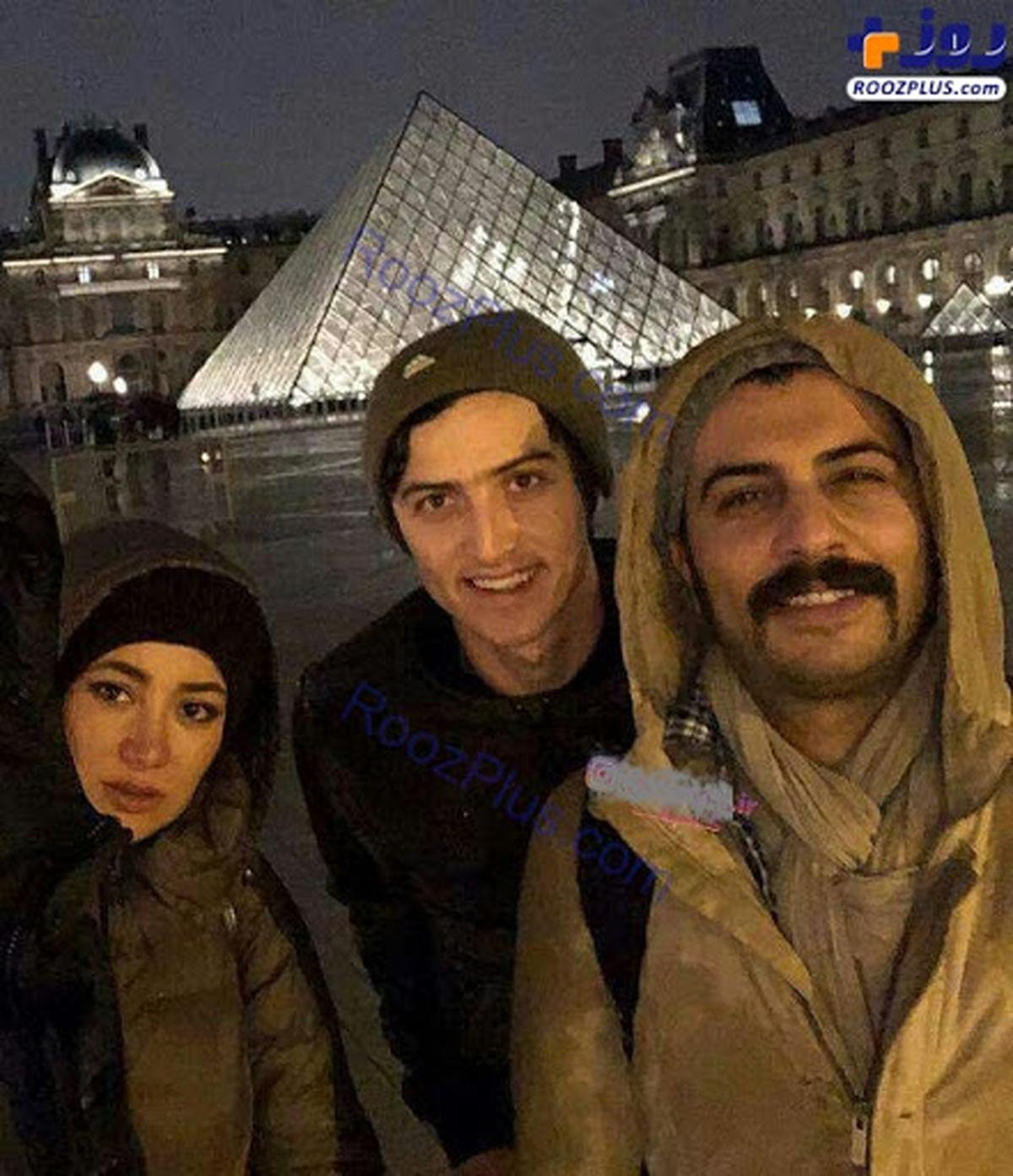 خوشگذرانی بهاره افشاری با فوتبالیست معروف در روسیه + عکس