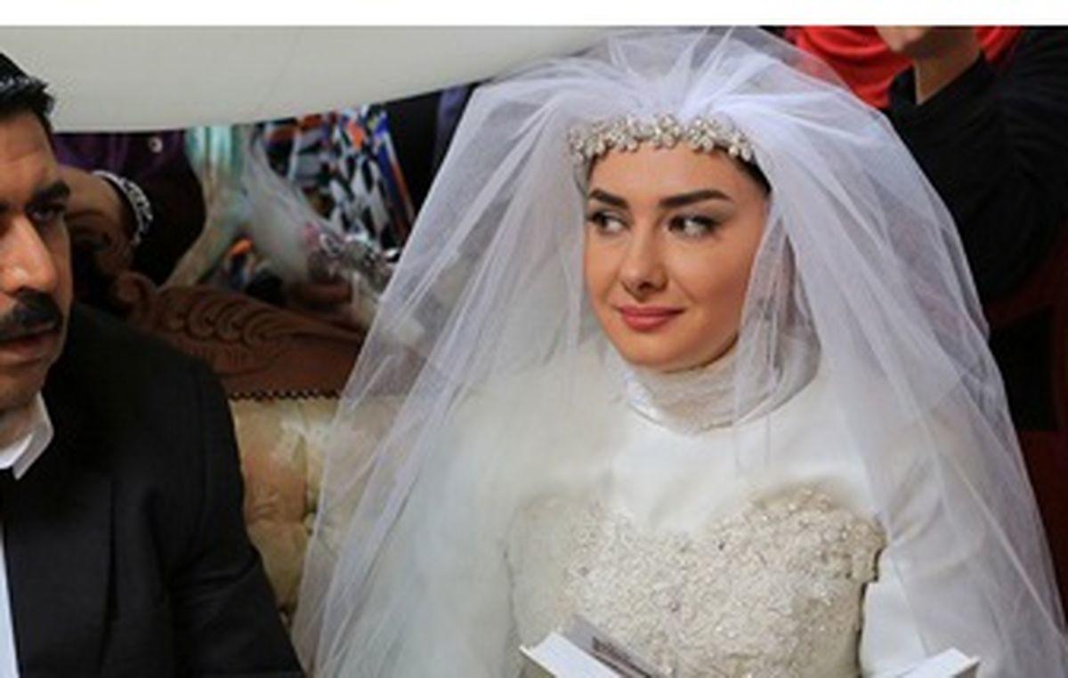 مراسم ازدواج هانیه توسلی + عکس