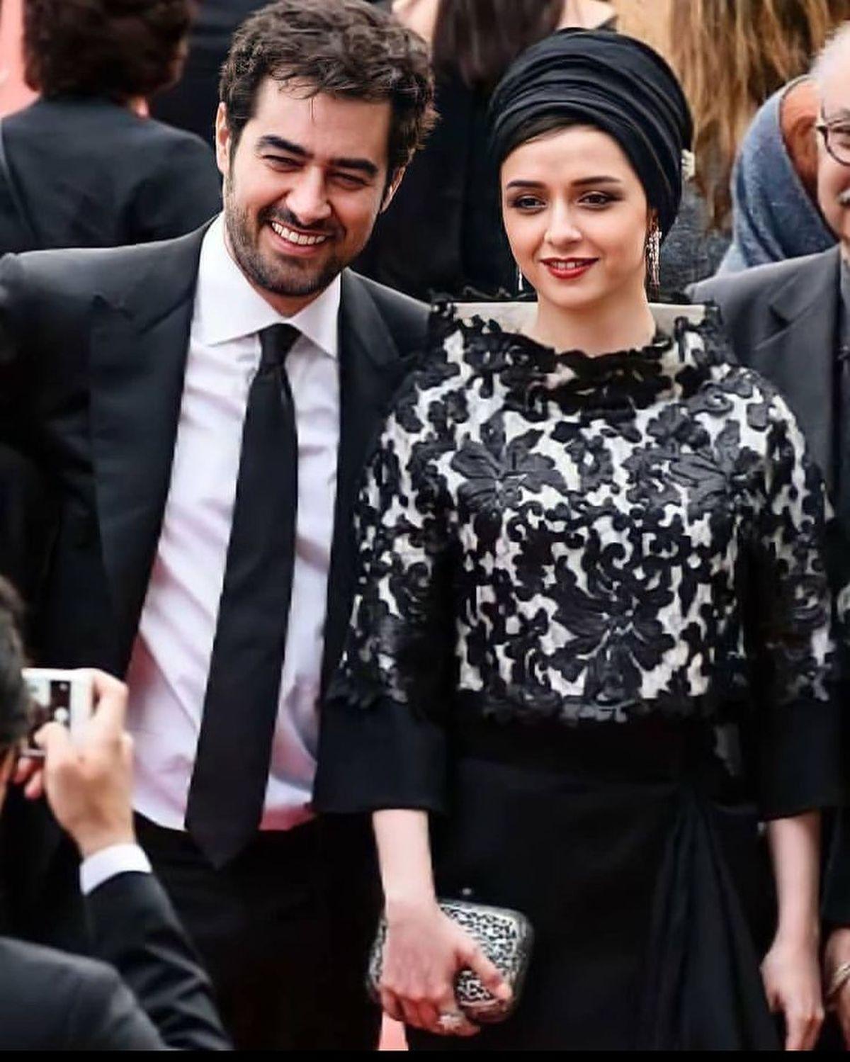 شهاب حسینی در آغوش ترانه علیدوستی+عکس