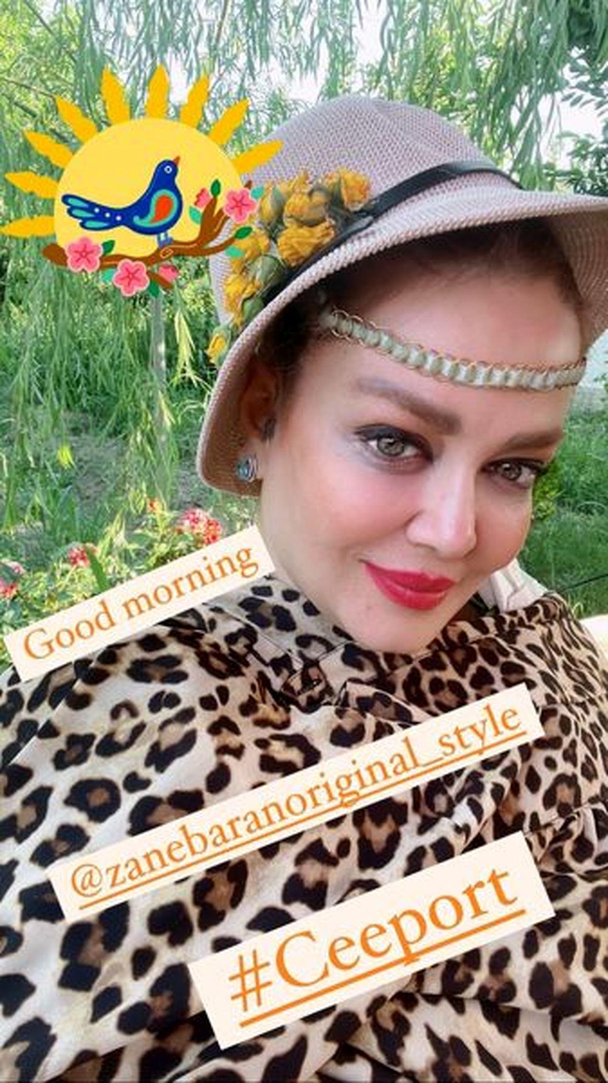 لباس پلنگی و چسبان بهاره رهنما +عکس