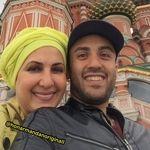 خوشگذرانی فاطمه گودرزی و پسرش در روسیه + عکس
