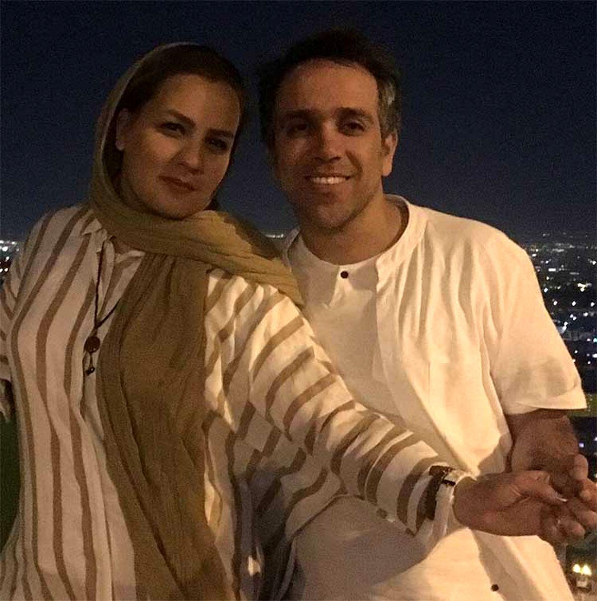 رقصیدن همسر امیر کربلایی زاده + عکس