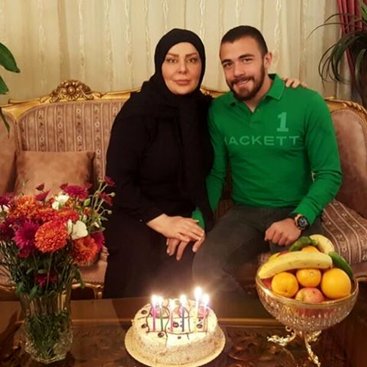 همسر فشن و عملیِ امیر قلعه نویی + عکس