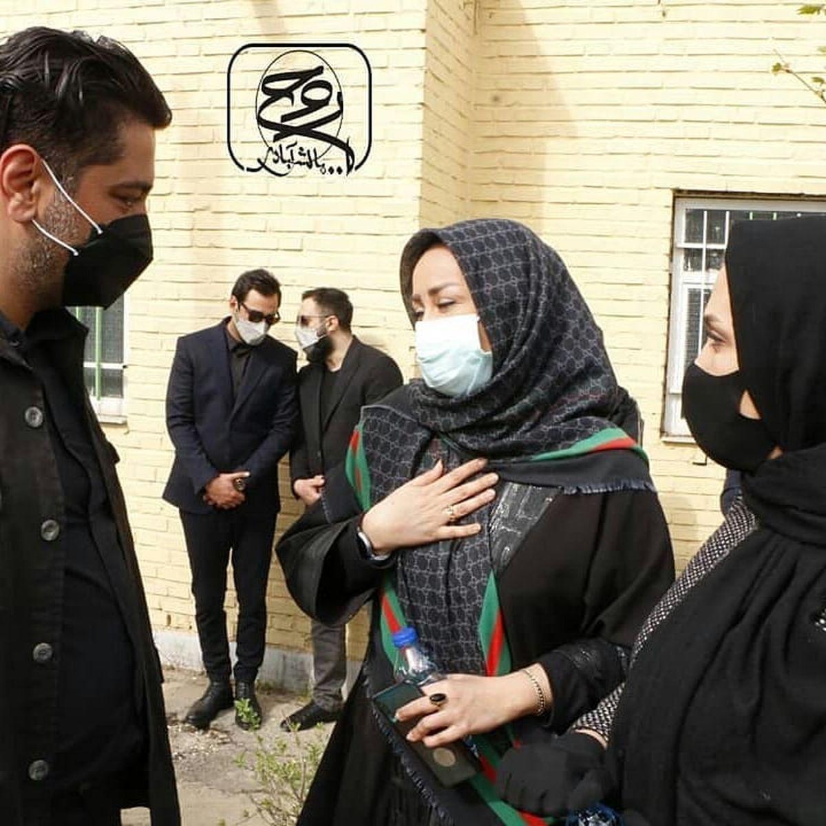 زنان مجری در کنار شوهر آزاده نامداری +عکس