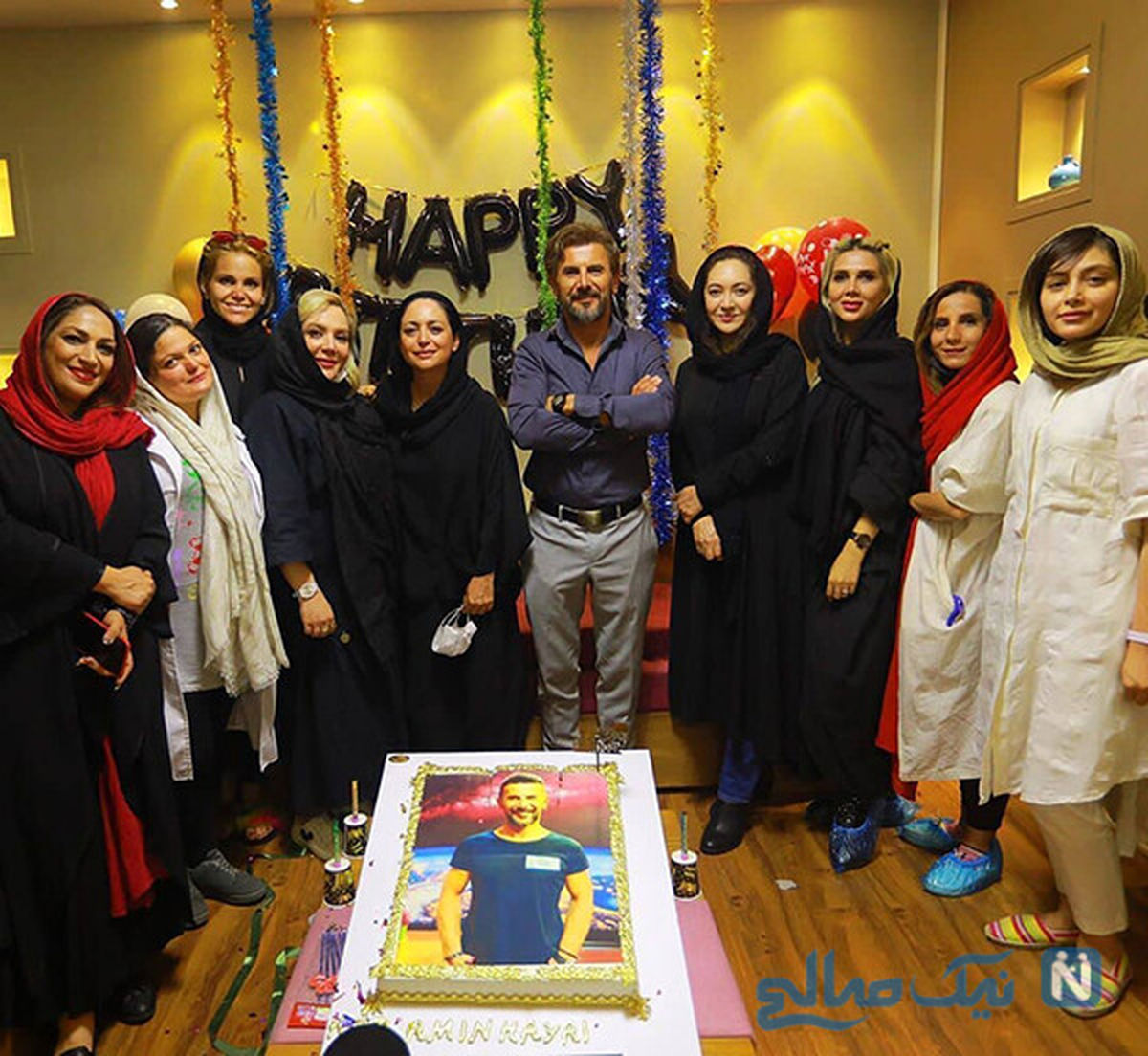 چهره زیبای نیکی کریمی در جشن تولد+عکس