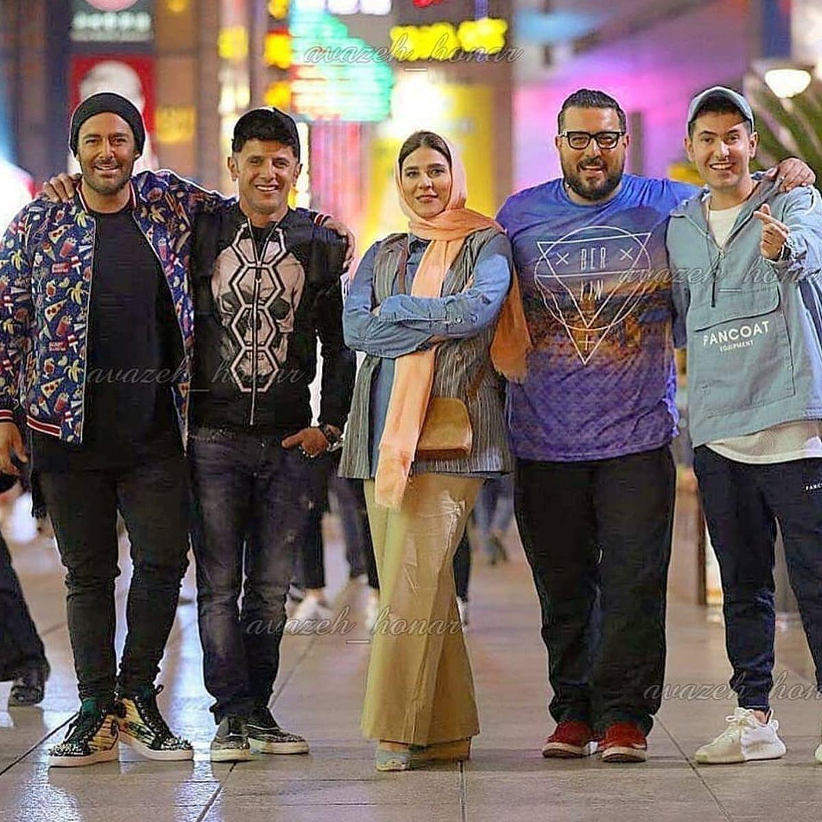 سحر دولتشاهی در آغوش محسن کیایی ! +عکس