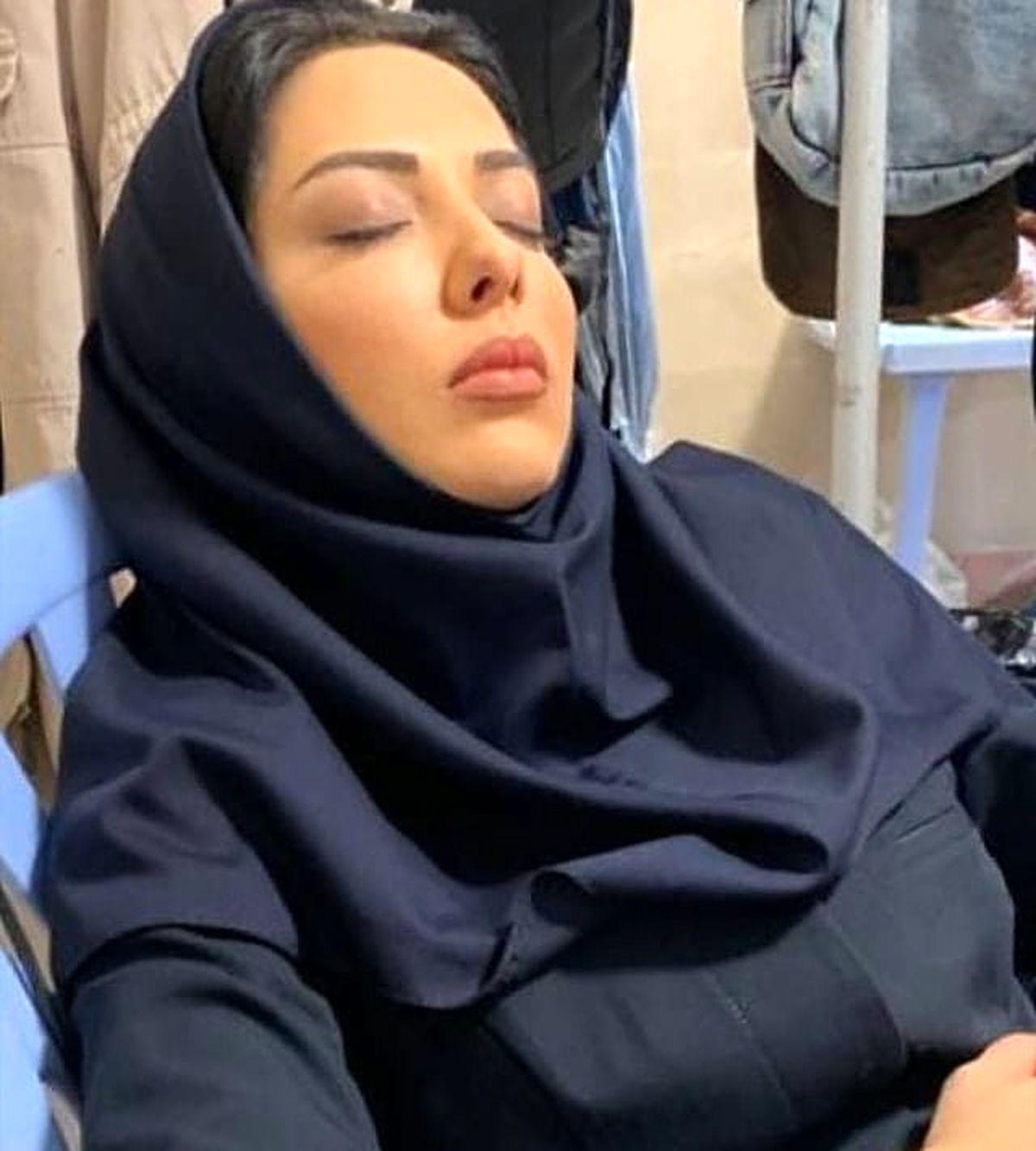 ازدواج لیلا اوتادی و احسان علیخانی/ واکنش عجیب لیلا اوتادی! + عکس