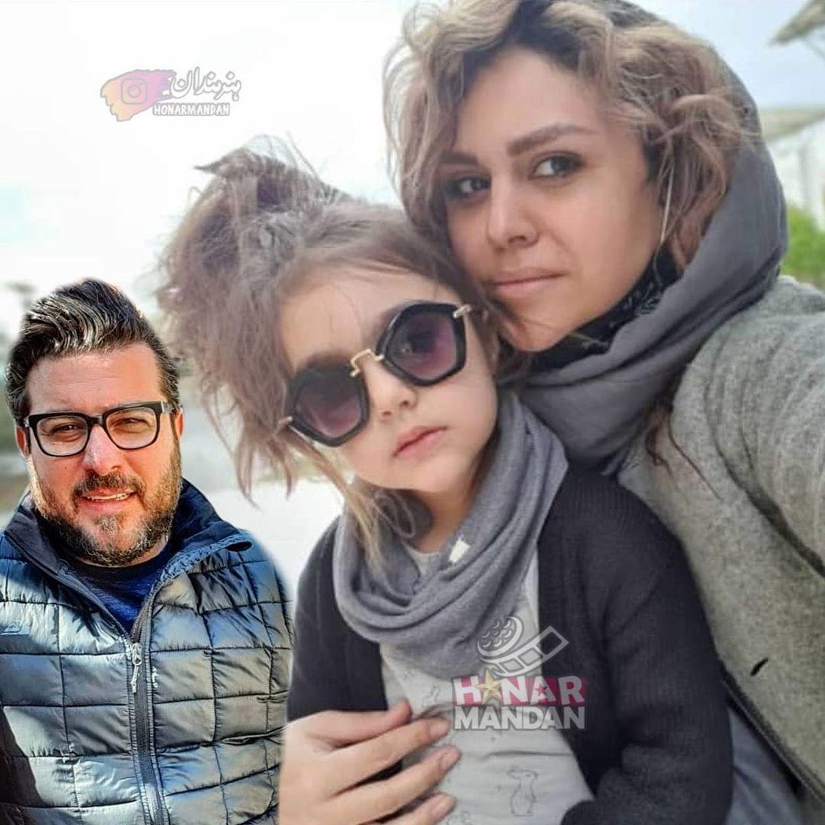 چهره فشن همسر و دختر محسن کیایی + عکس
