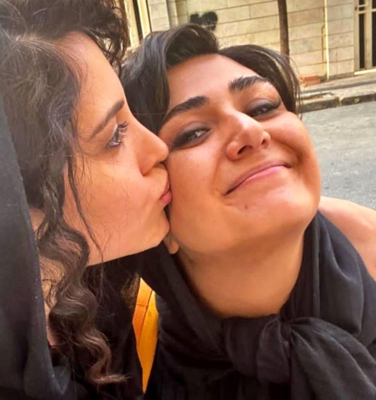 ازدواج و مادر شدن باران کوثری در کنار پژمان جمشیدی+فیلم