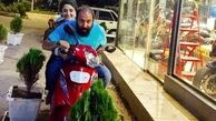موتورسواری نرگس محمدی بدون حجاب + عکس