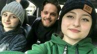 خودروی لوکس و گرانقیمت سارا و نیکا با یک پسر + عکس