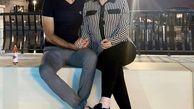 تفریحات شبانه سپهر حیدری با همسر بی حجابش در دبی + عکس