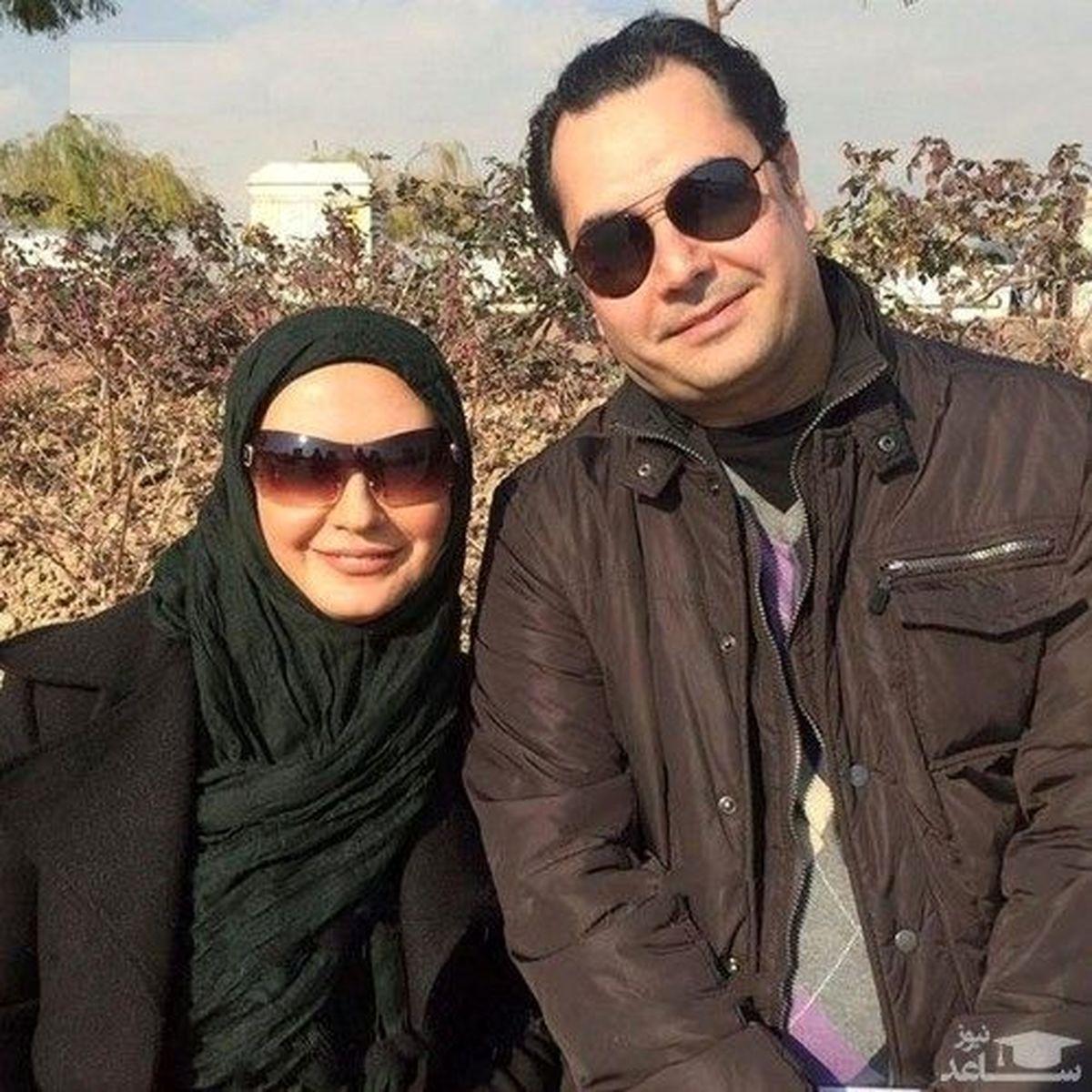 همسر جوان و خوشتیپ لعیا زنگنه + عکس
