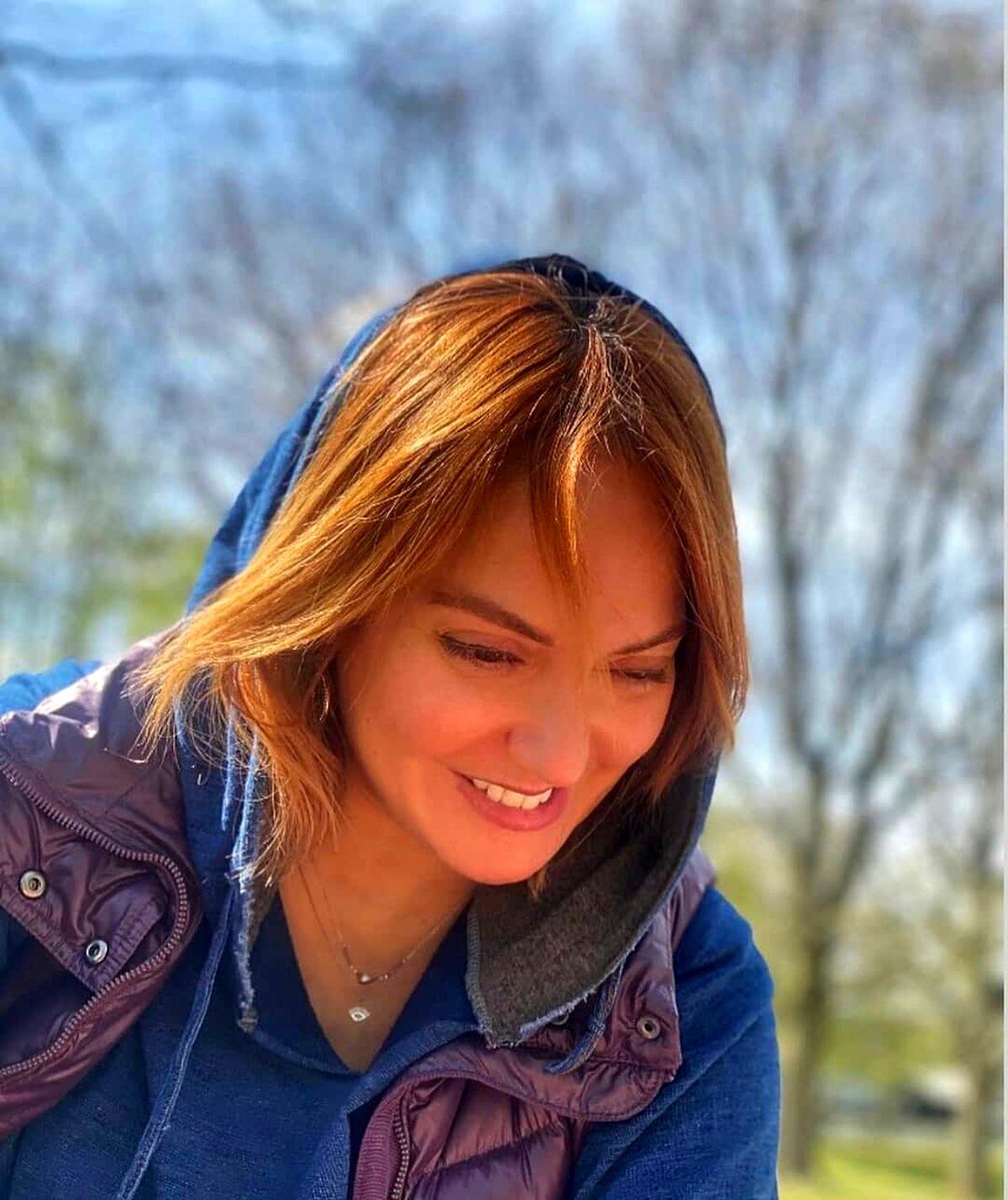 مهناز افشار با موهای رنگ شده + عکس