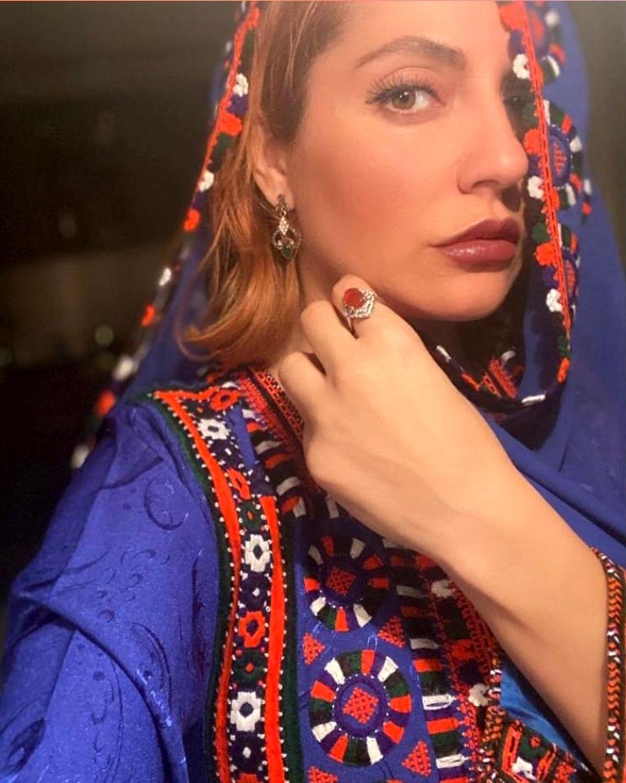 مهناز افشار با لباس زیبا و ناجور +عکس