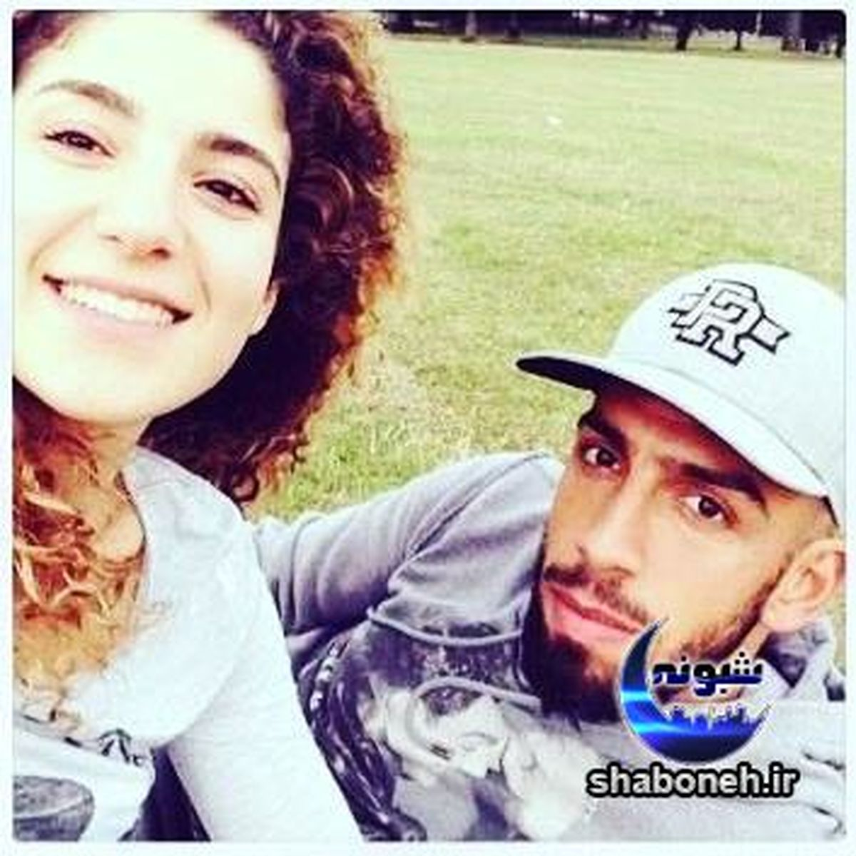 اشکان دژاگه در آغوش همسرش + عکس