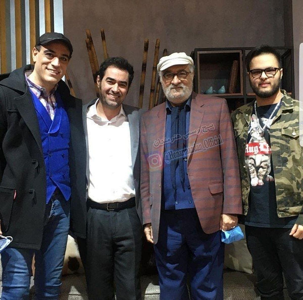 پسر شهاب حسینی در برنامه همرفیق + عکس