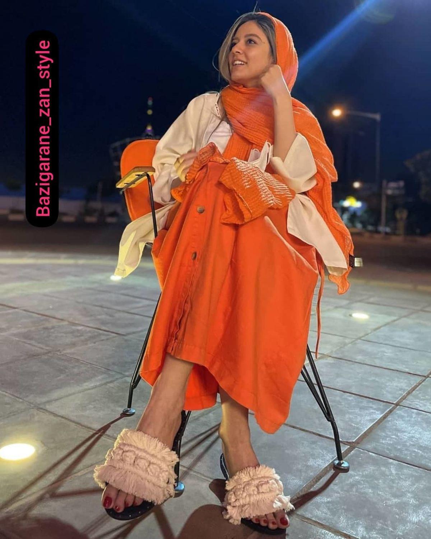 تفریح شبانه ماهور الوند با پیراهن کوتاه و پاهای برهنه + عکس