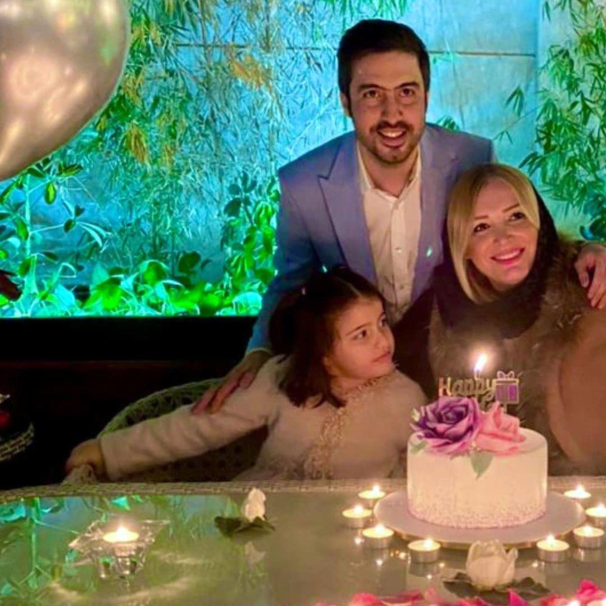 جشن تولد رویایی همسر زیبای خسرو حیدری+عکس