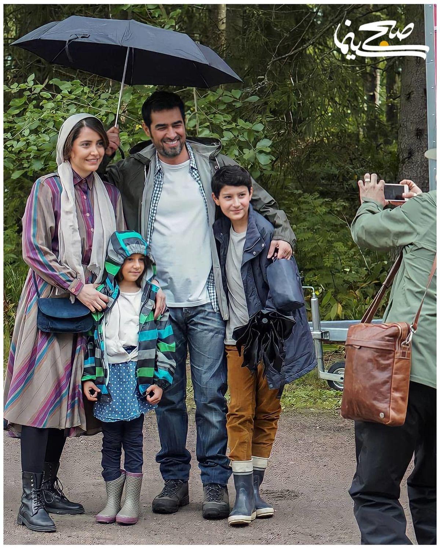صمیمیت زیاد شهاب حسینی با یک زن زیبا!+عکس