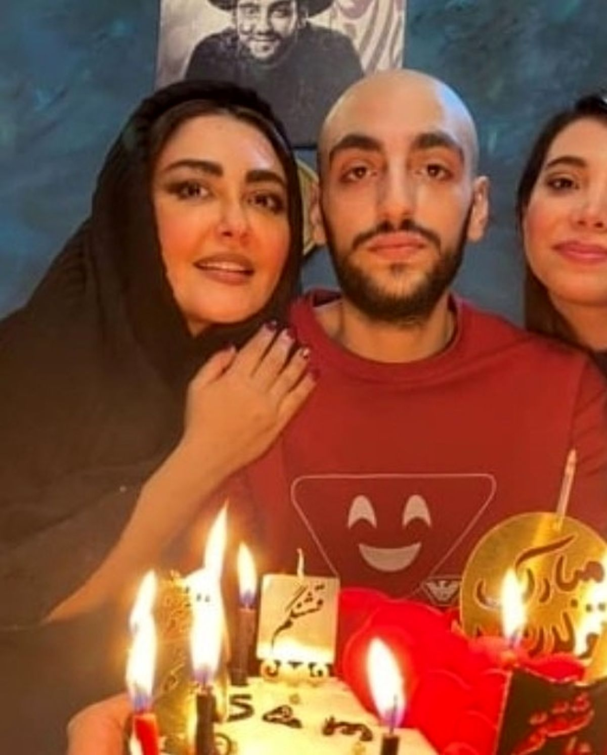 چهره عملی و جوان شقایق فراهانی در جشن تولد پسرش + عکس