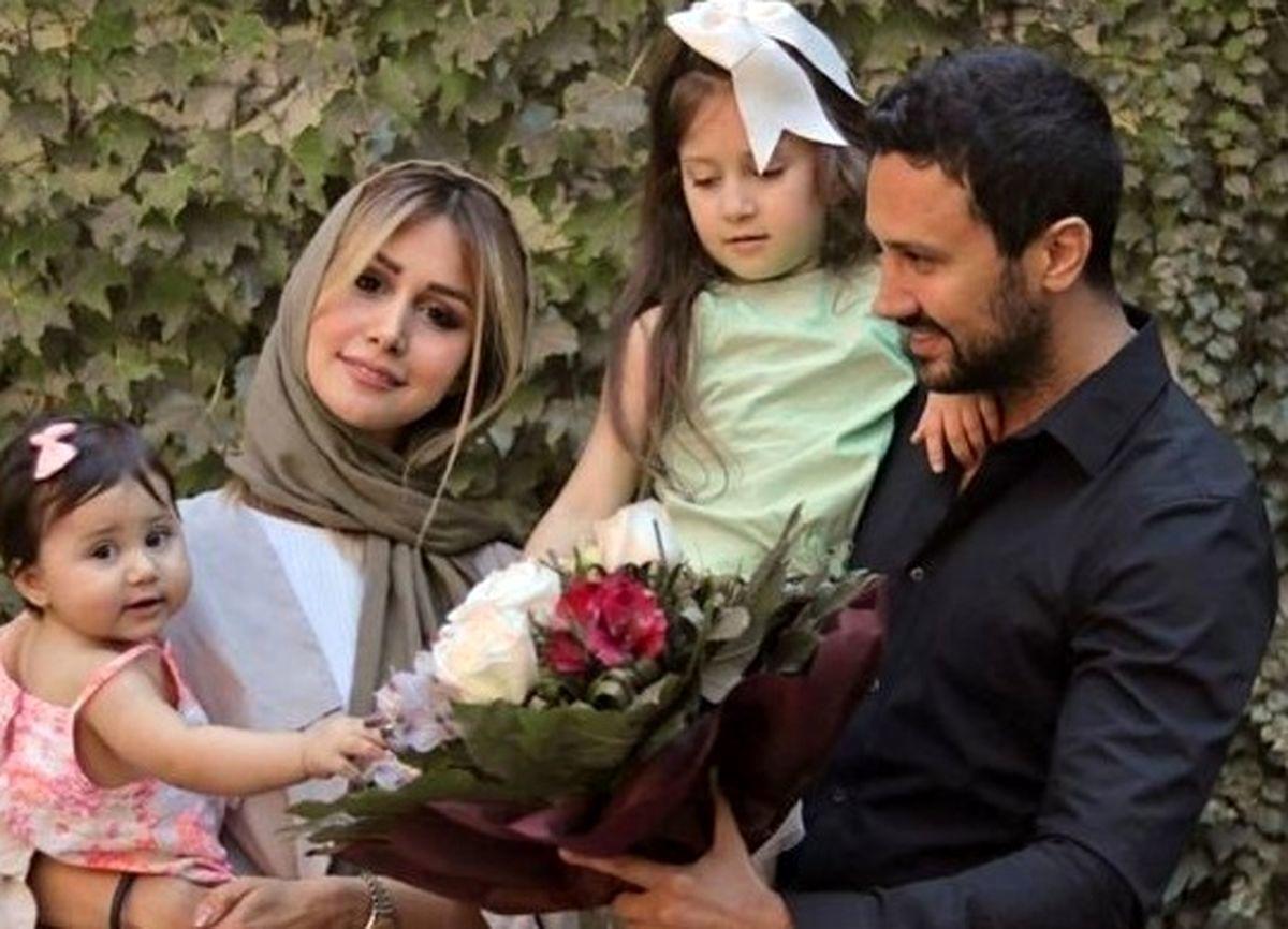 تفریح خصوصی شاهرخ استخری و همسرش + عکس