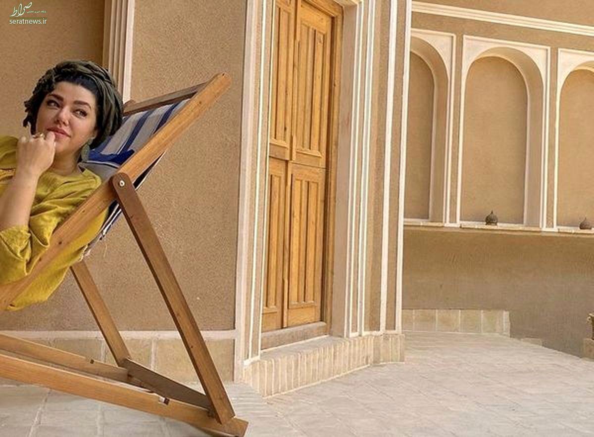 کچل کردن موهای همسر شهاب حسینی + عکس