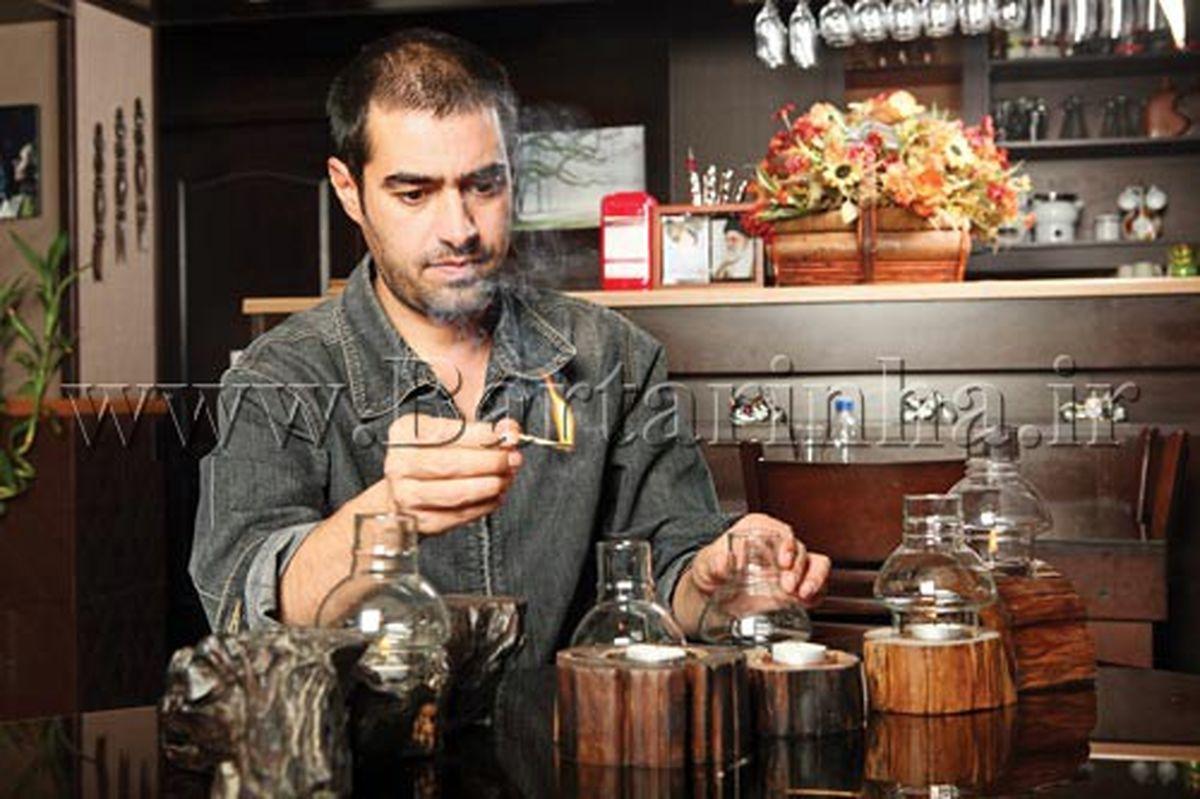 کافه لاکچری شهاب حسینی + عکس