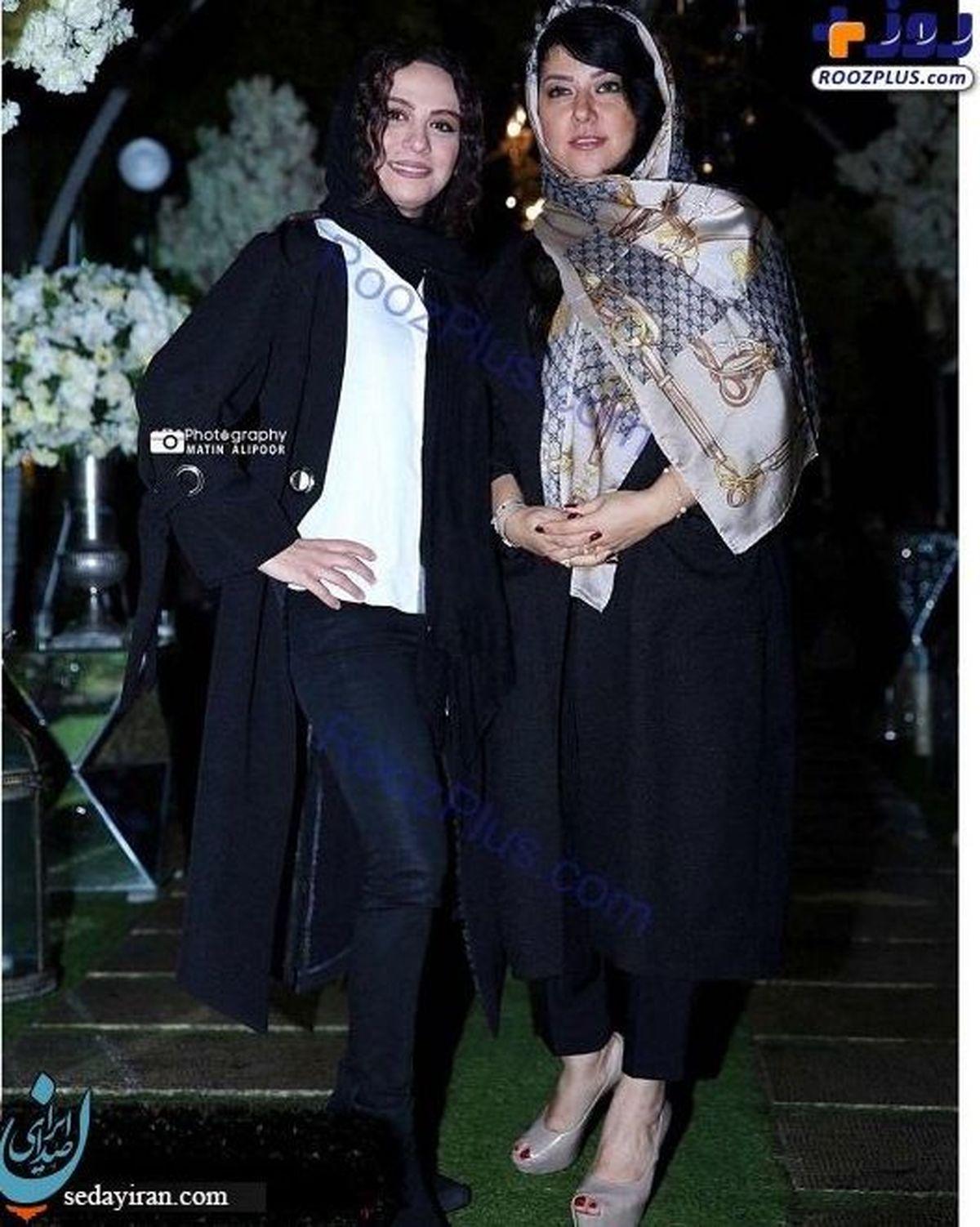 وقتی همسر شهاب حسینی موهای خود را مش می کند/ ماجرای دوستی پرحاشیه همسر شهاب حسینی + عکس