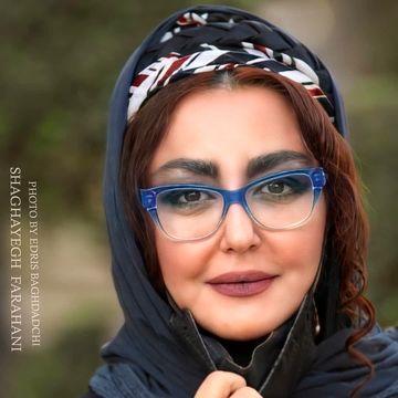 صورت عملی و عجیب شقایق فراهانی با آرایش غلیظ / عکس