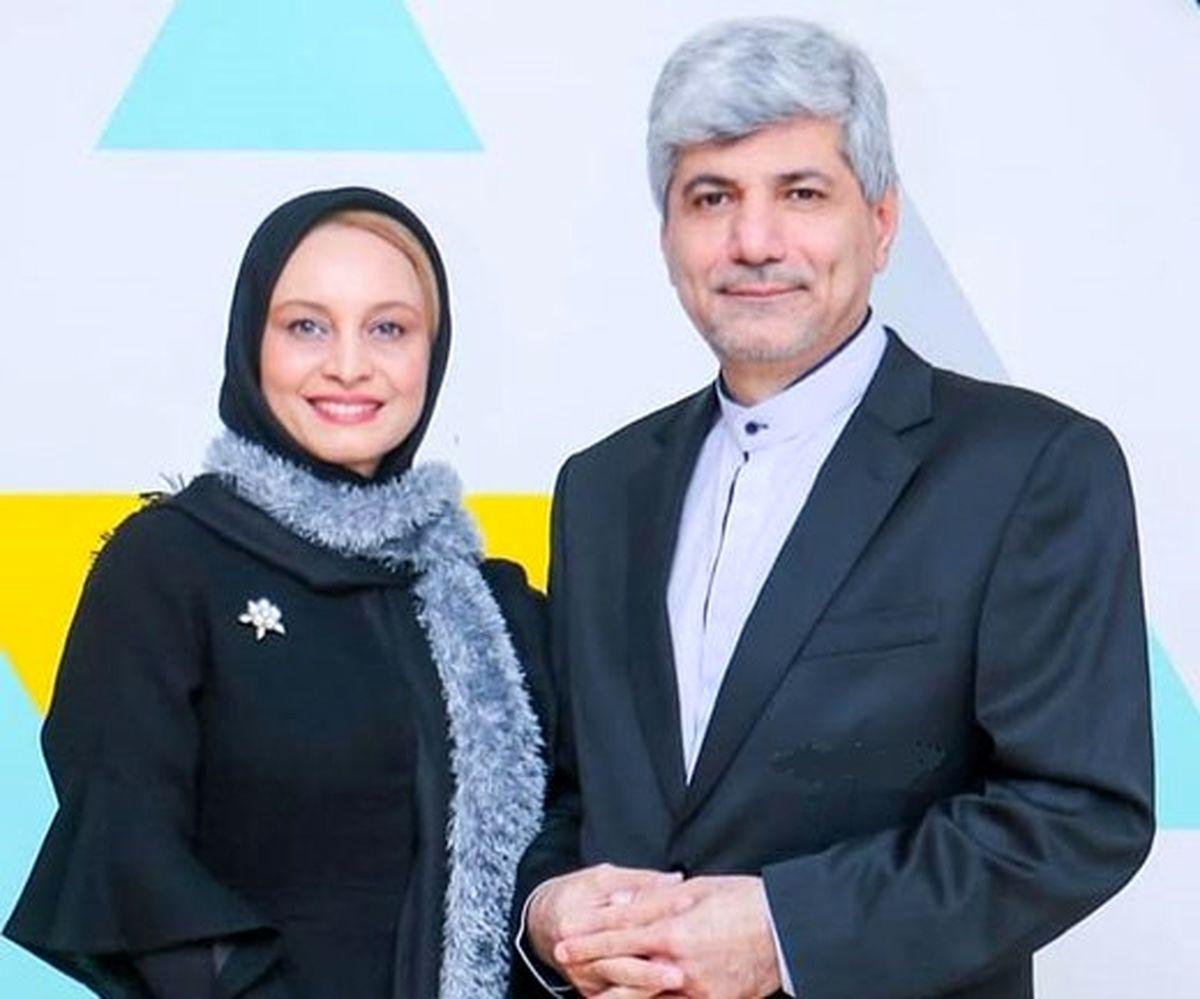 کرونای سخت و شدید مریم کاویانی/ حال و روز بد همسر آقای سیاستمدار / فیلم