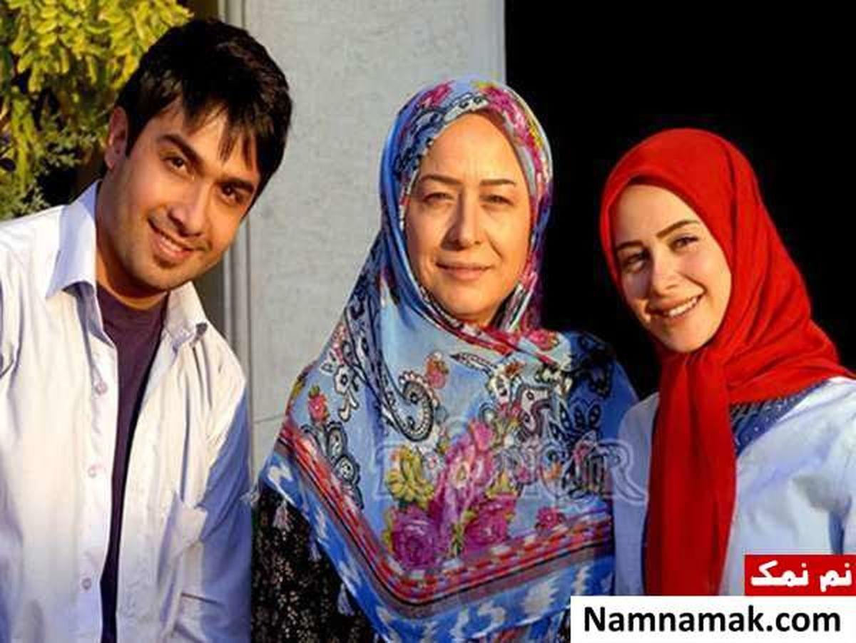 همسر جدید آزیتا حاجیان + عکس