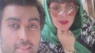 چهره و تیپ فشنِ الهام حمیدی در تولد همسرش+عکس