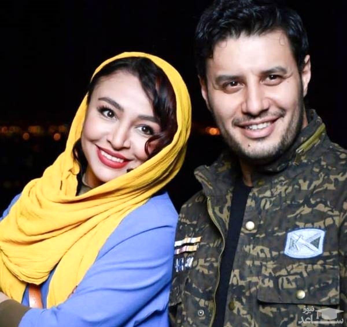 لباس لختی و ناجور همسر جواد عزتی + عکس