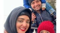 خوشگذرانی نرگس محمدی با برادرش+عکس