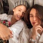 لباس های ناجور فرشته حسینی در تختخواب ! + عکس