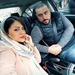 محسن کیایی و همسرش در خودروی لاکچری شان + عکس