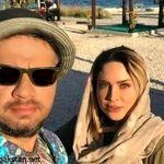 ازدواج علی صادقی با ملیکا زارعی + عکس