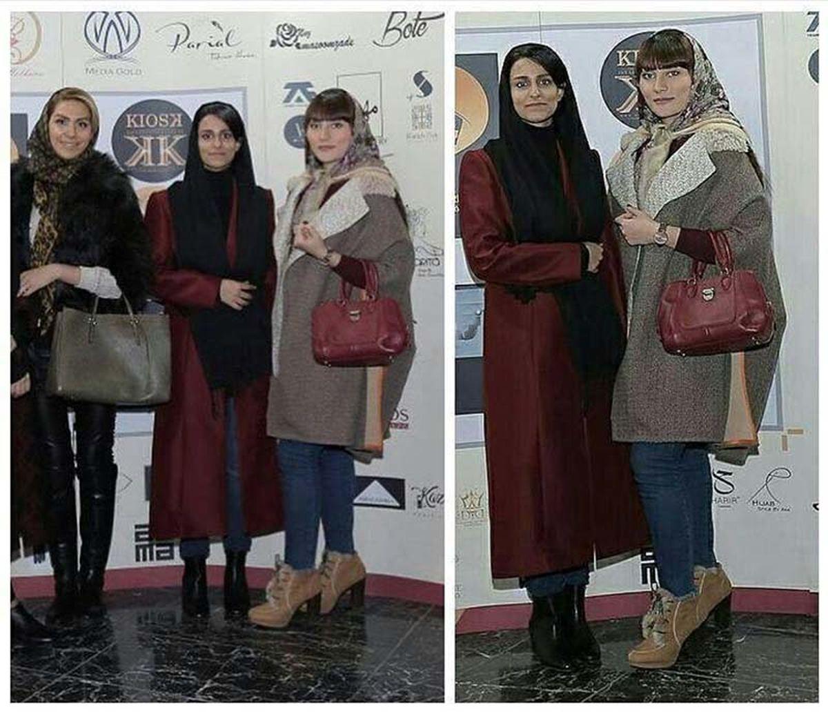 دختران بدحجاب کنار مهران مدیری +عکس