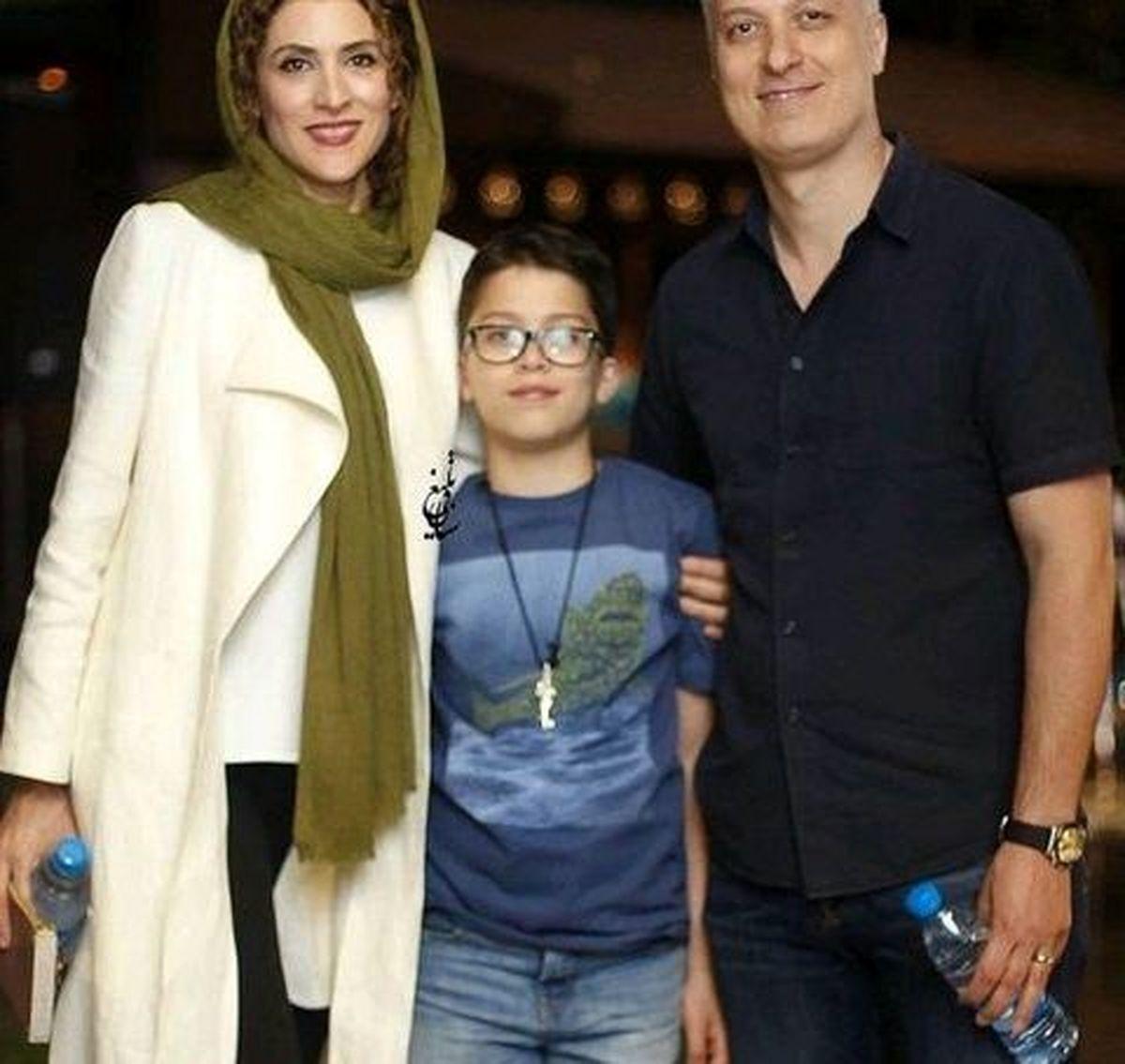 همسر قد بلند و خوشتیپ ویشکا آسایش + عکس