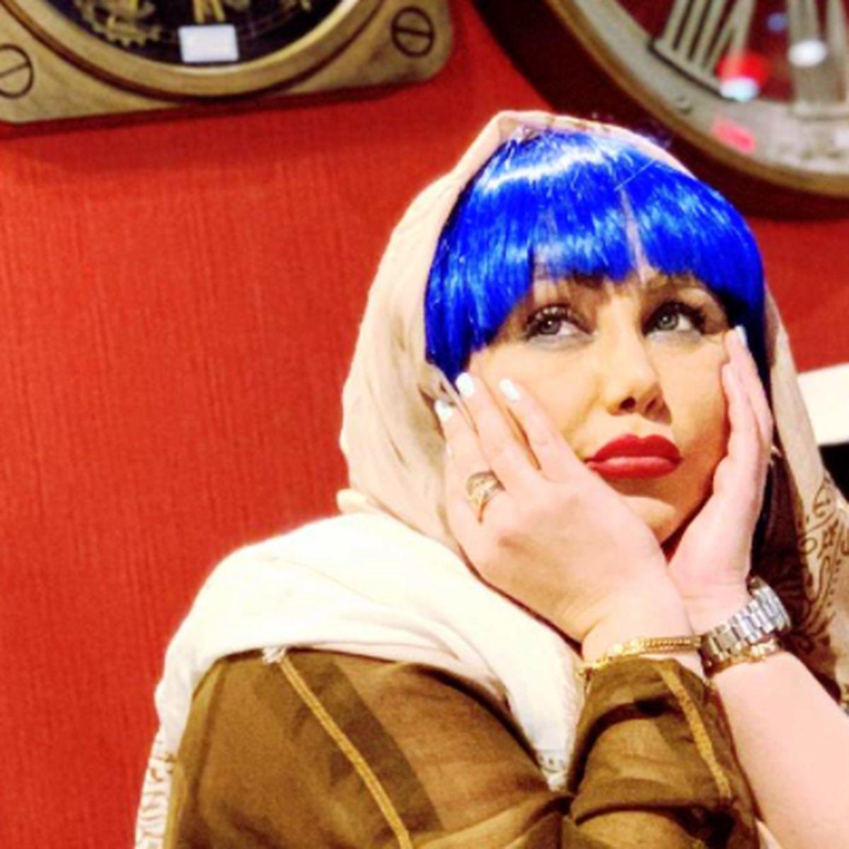رنگ موهای بهنوش بختیاری + عکس