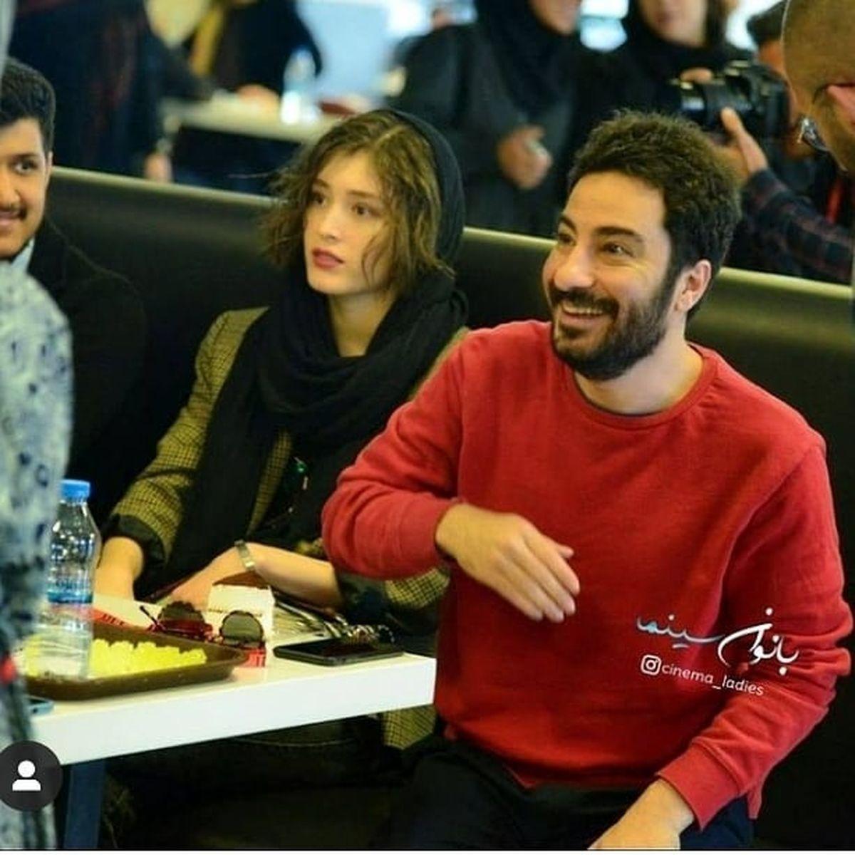 ازدواج نوید محمدزاده و فرشته حسینی با یکدیگر + عکس