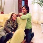سحر دولتشاهی در آغوش محمدرضا گلزار +عکس