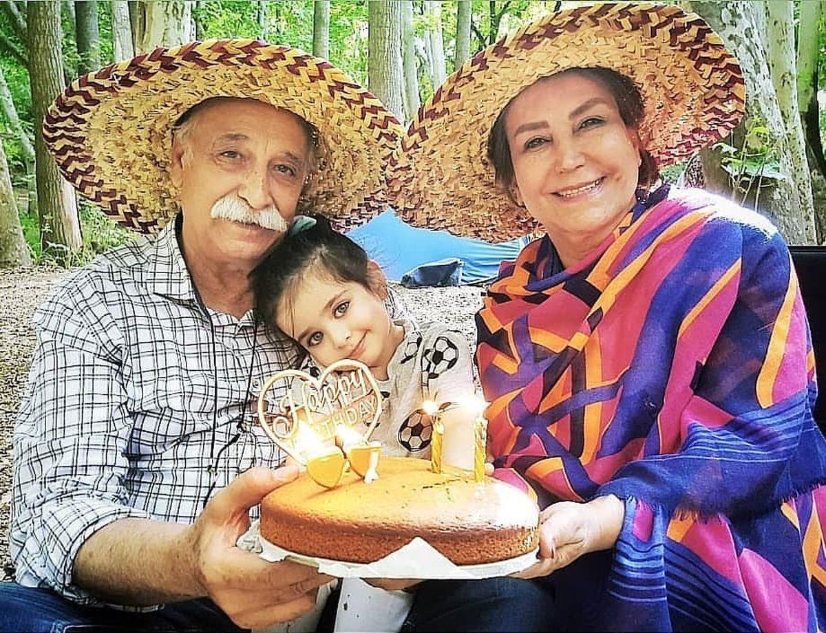 سوپرایز محمود پاک نیت برای تولد همسرش مهوش صبرکن+عکس