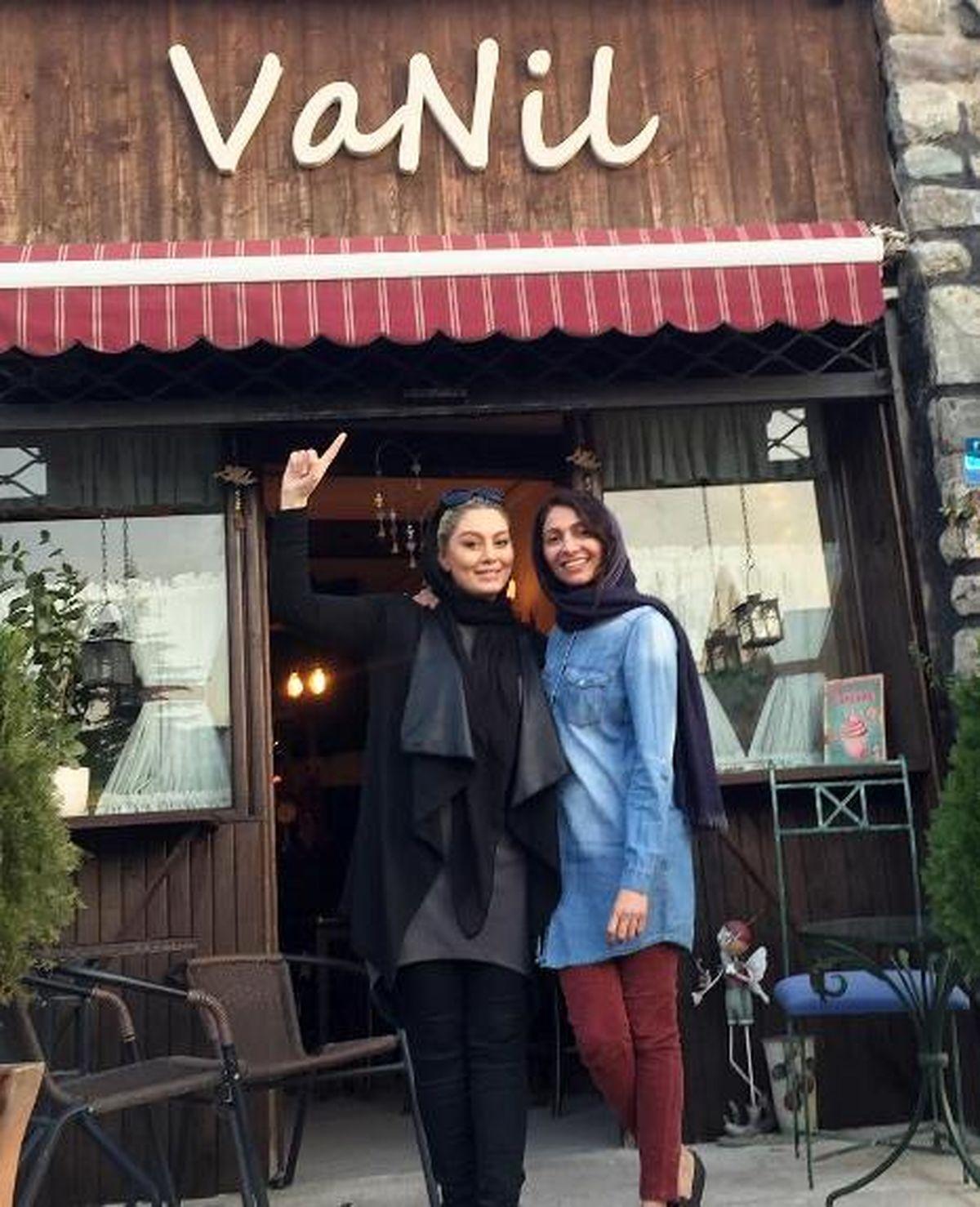 کافه شیک و لاکچری همسر امین حیایی در لواسان + عکس